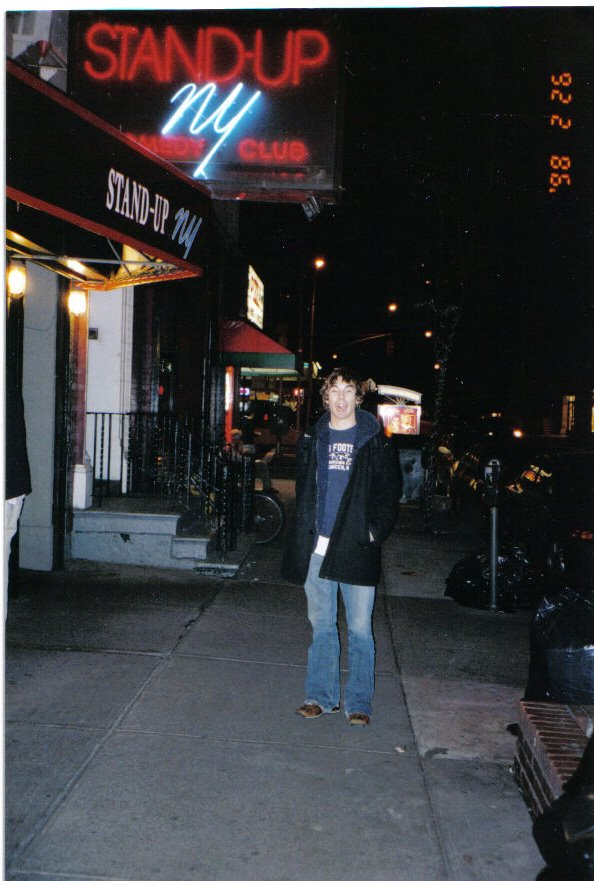 A TERRIBLE PICTURE OF ME AFTER ONE OF MY MANY SHOWS AT STAND-UP NY
