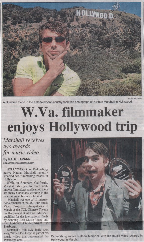 "MORE PRESS ON MY TRIP TO HOLLYWOOD FOR THE ""WHEN I'M FIFTY"" SCREENING"