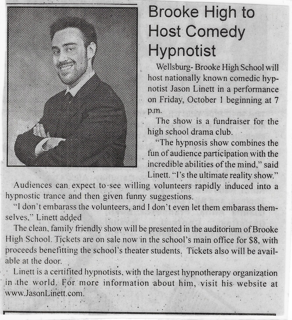 SOME PRESS ON ANOTHER FUNDRAISER FOR OUR THEATRE PROGRAM