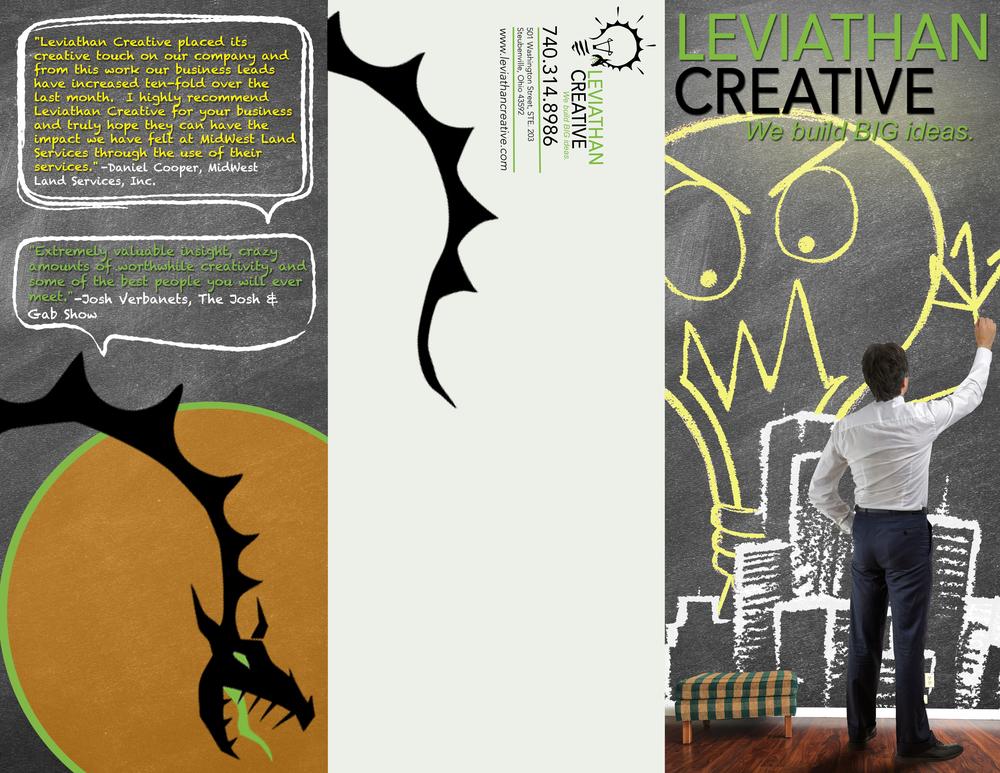LEVIATHAN CREATIVE TRI-FOLD OUTSIDE