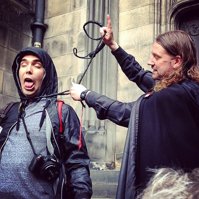 Learning all about the execution during my time in Edinburgh, Scotland.