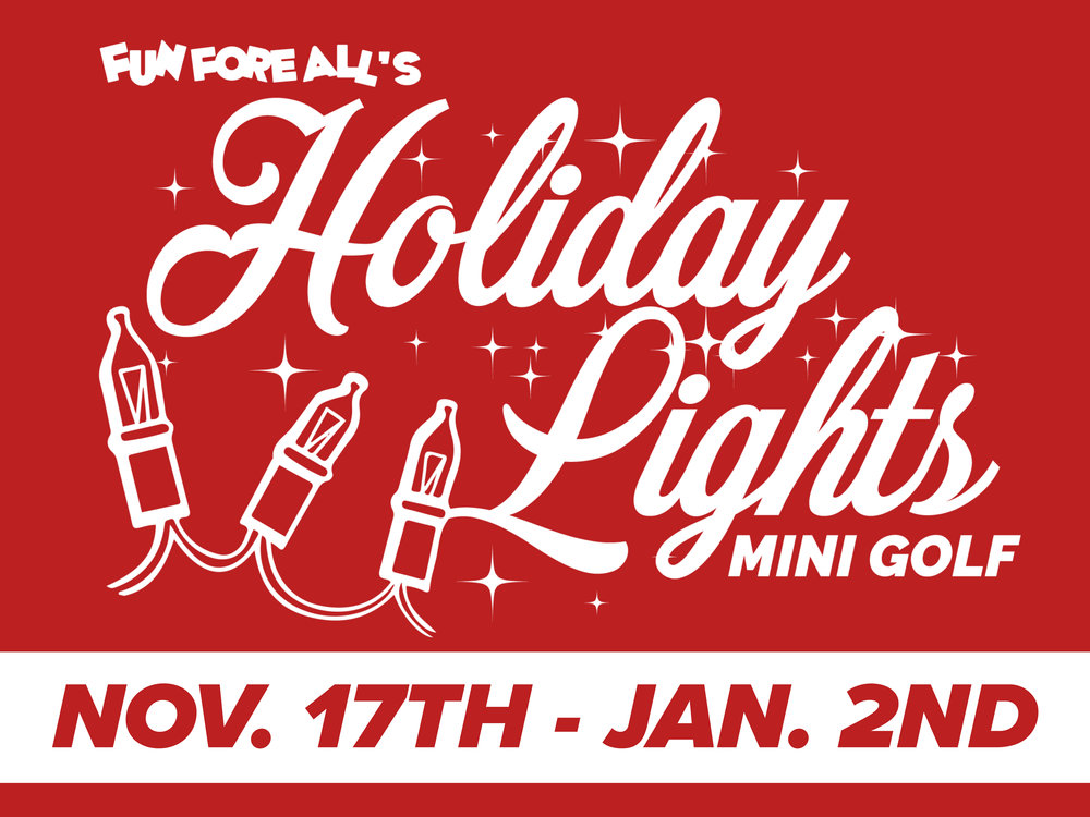 HOLIDAY LIGHTS YARD SIGN (2017)
