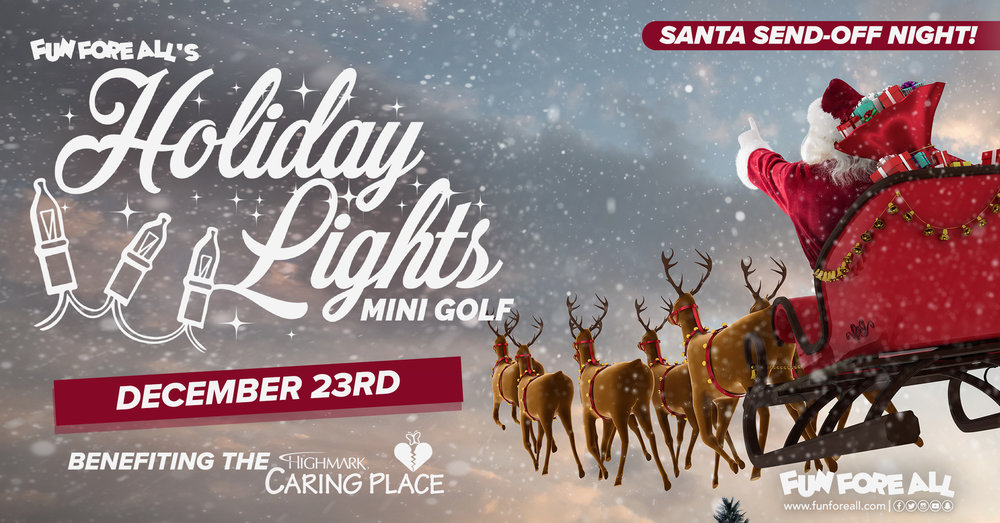 SANTA SEND-OFF  NIGHT INVITE BANNER (2017)