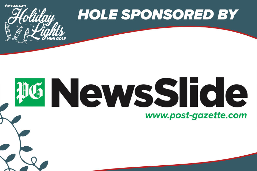 HOLIDAY LIGHTS HOLE  SPONSOR SIGN (2017)