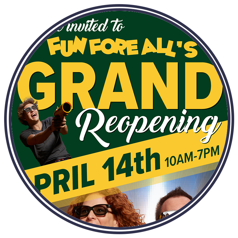 GRAND REOPENING