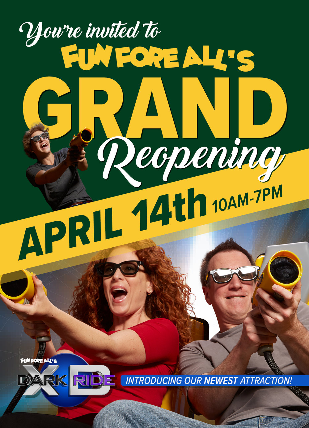 GRAND REOPENING <br> FLYER (FRONT)