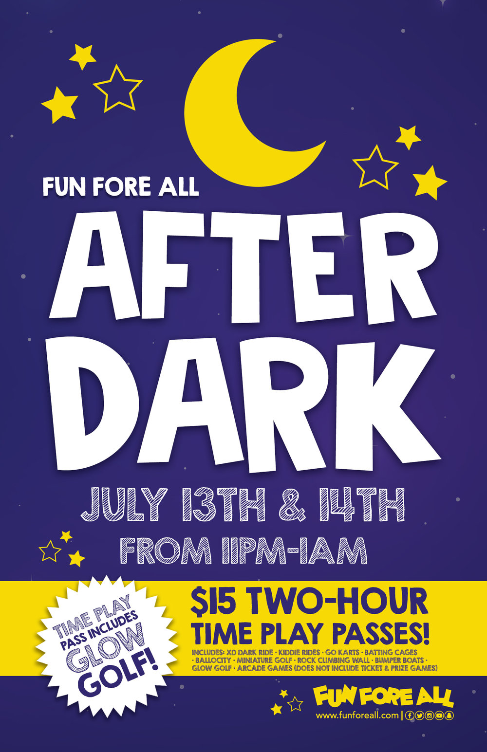 AFTER DARK 2018 FLYER