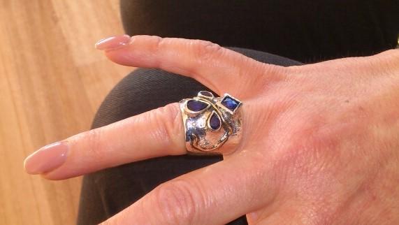 unique sapphire ring