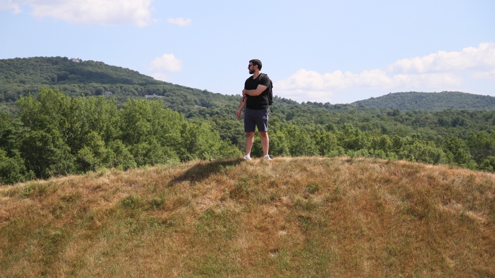 Maya Lin's Wavefield at Storm King Art Center