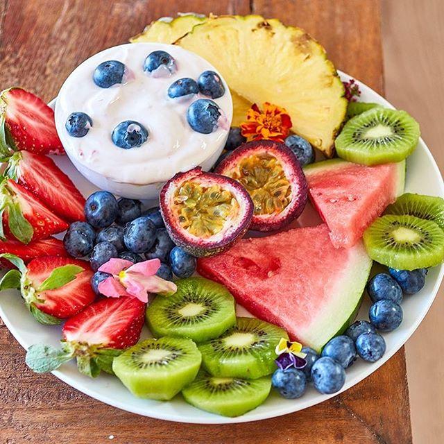 Breakfast xxxxx🍓🍉🧚🏻♀️🍇 All recipes at Bondibaker.com xxxxx