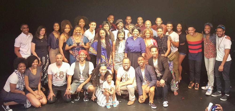"2015 Harlem9's ""48 Hours in Harlem"" #teamyounggifted&black"