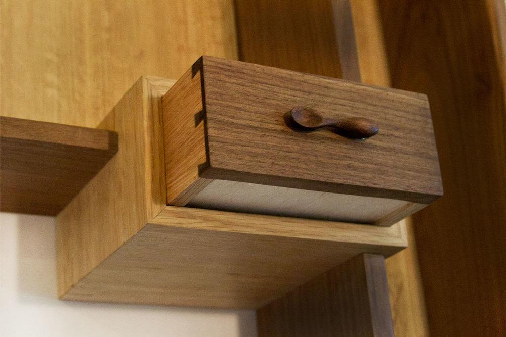Spoon Cabinet, Detail
