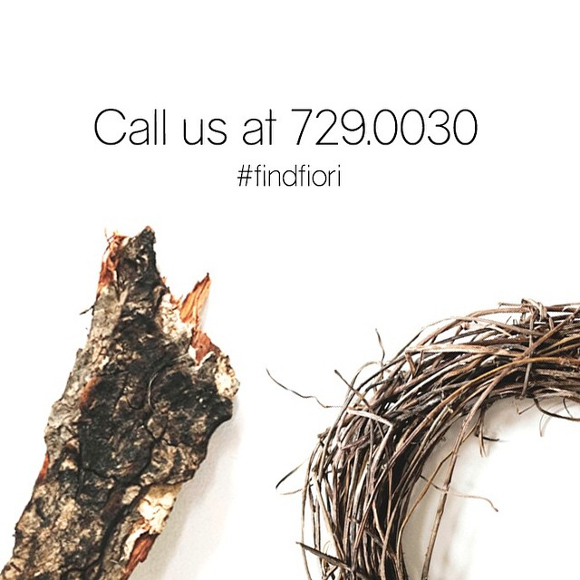 729.0030 is the number to dial if you're looking for a way to bring our stunning floralscapes to your events and gatherings. #FindFiori #FioriDiM