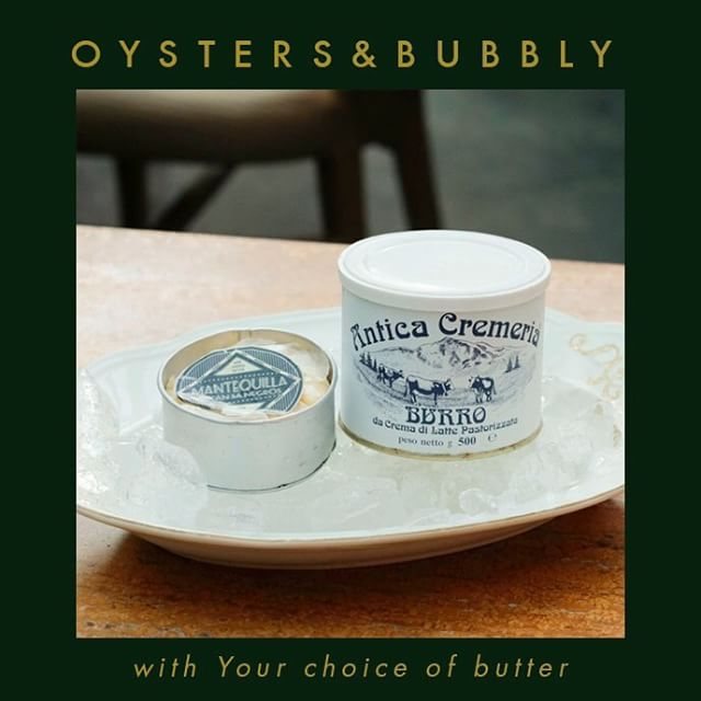 Wind down this weekend with our #OystersAndBubbly offer. Add a bit of sinful butter to your fresh oysters to enjoy it more. Take your pick between our fresh local mantequilla or our imported French butter. #LussoManila