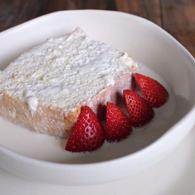 cuatro leches with Baguio strawberry #graceparklovesfarmers merieNda anyone?
