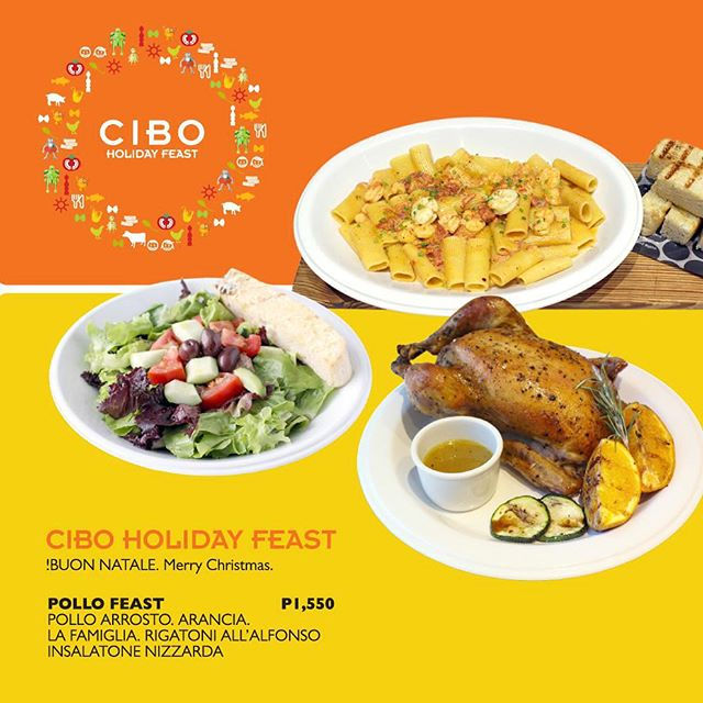 'Tis the season to be jolly! 'Tis the season to eat a feast! #CiboHolidayFeast #CiboPh