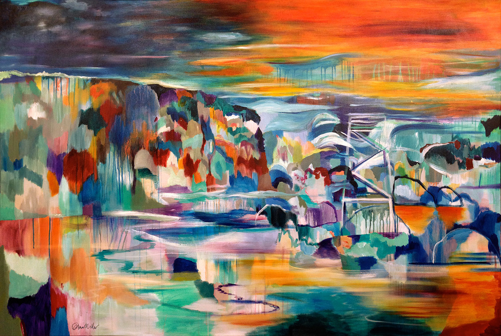 """""""Redhead Beach"""" commission for Emma Nicholson, NSW 2015"""