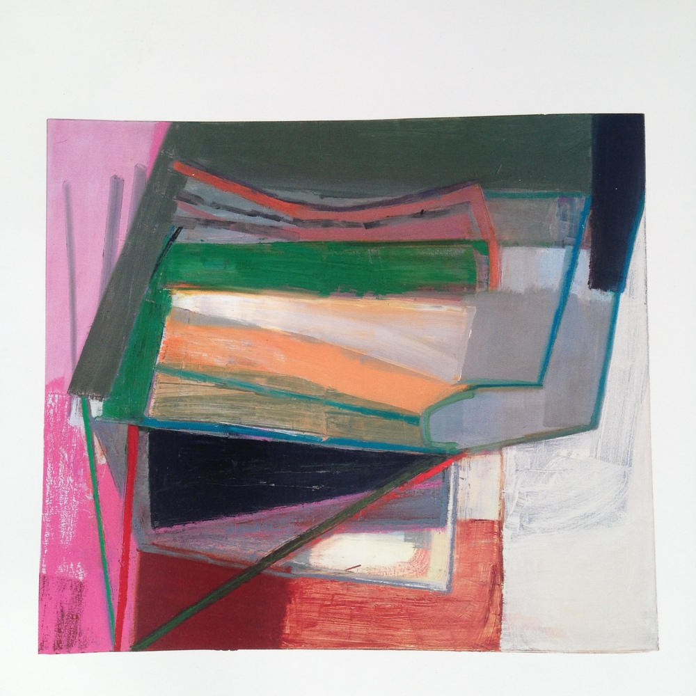 Discovering American artist  Amy Sillman  was like finding a piece of chocolate on my desk around 3 o'clock slump time! So exciting! I was immediately attracted to her work for its extraordinary use of colour and form. Quite beautiful stuff which left me feeling quite inspired. Here are a couple more of hers...