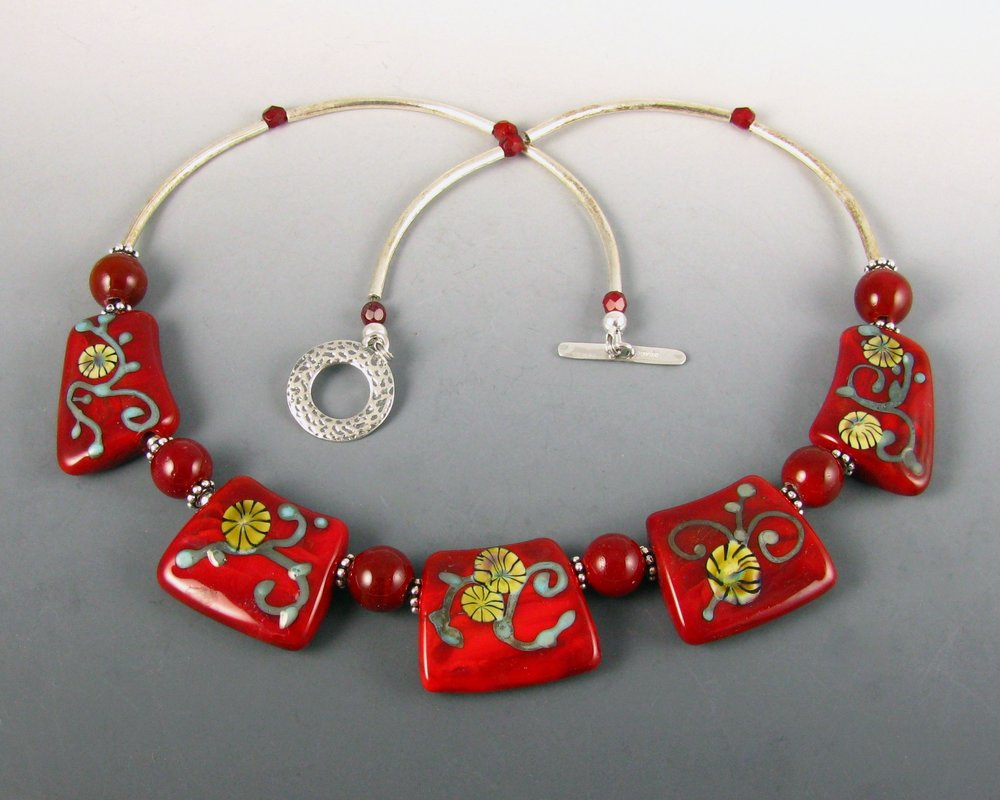 chinesey red chokerjpg