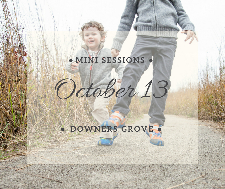 mini sessions downers grove
