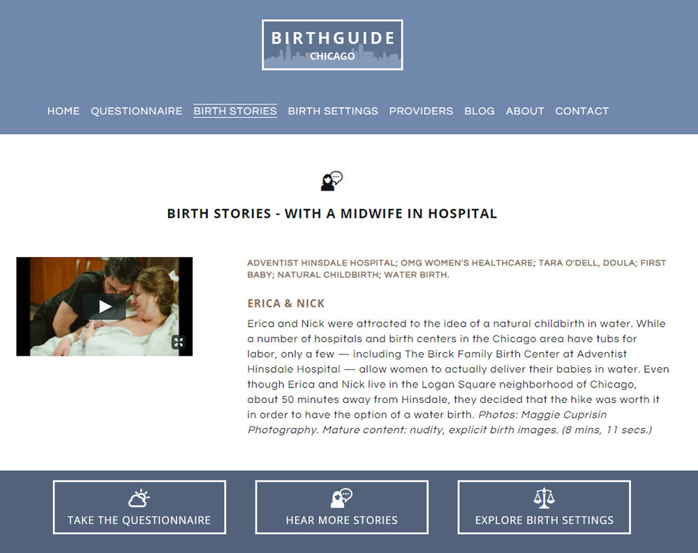 Click the image to hear the birth story (will open in new tab)