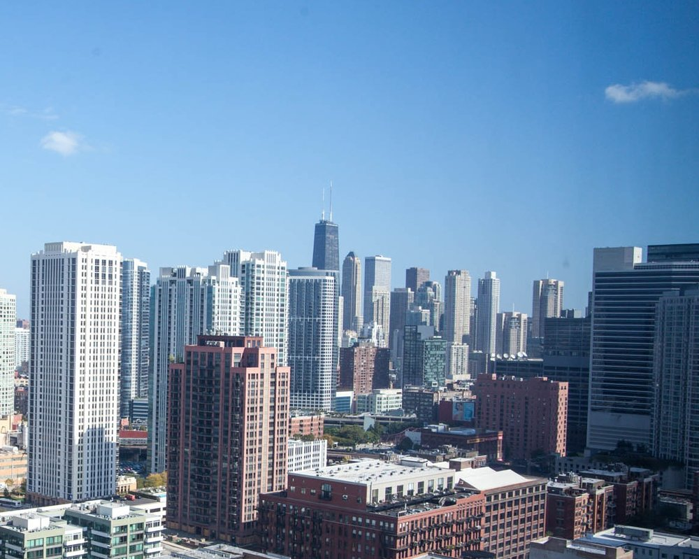 sunny-view-of-chicago-from-west-loop-high-rise