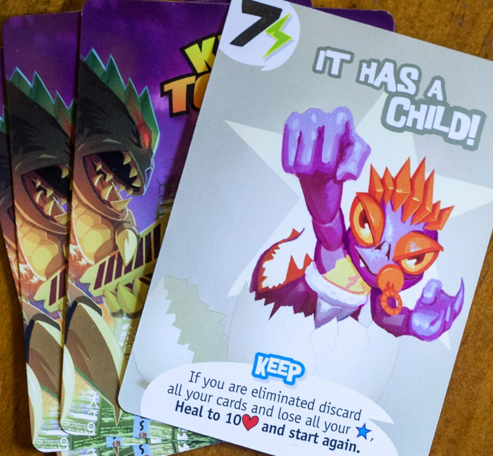 "Player elimination often has to be ""handled"" eve by ""last man standing"" games like  King of Tokyo  ( End Game Games )"