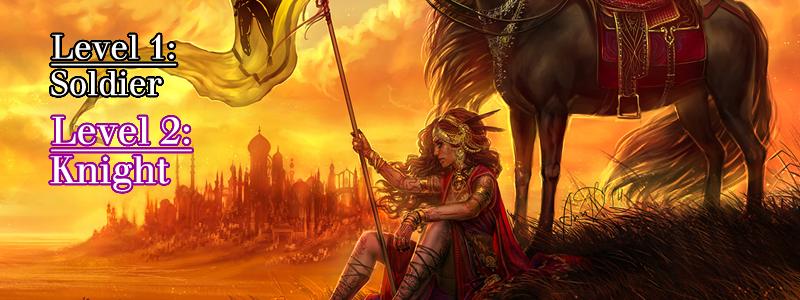 Knight ( War Horse  by  Anndr Kusuriuri )