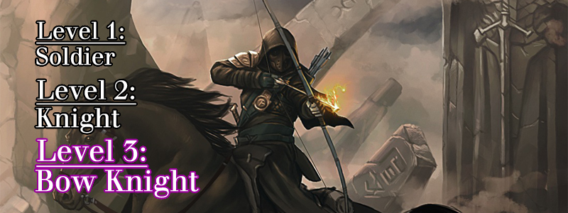 Bow Knight ( Mounted archer ride  by  digitalinkrob )