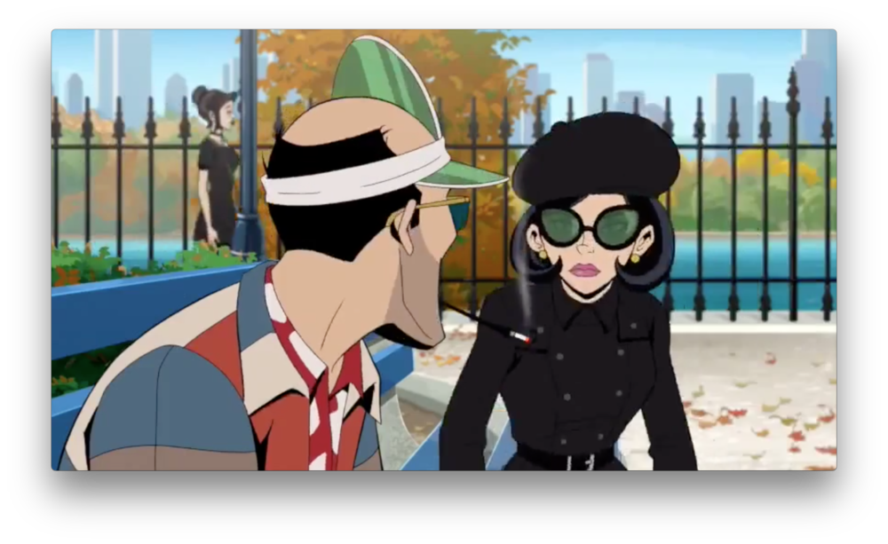 Dr. Mrs. the Monarch meets with Gen. Gathers in a New York park. They both seem undercover, as Sheila is wrapped in black with big sunglasses, and Gathers is in his old civilian clothes. Is this maybe the origin of the OSI-Guild training exercise we may have glimpsed?