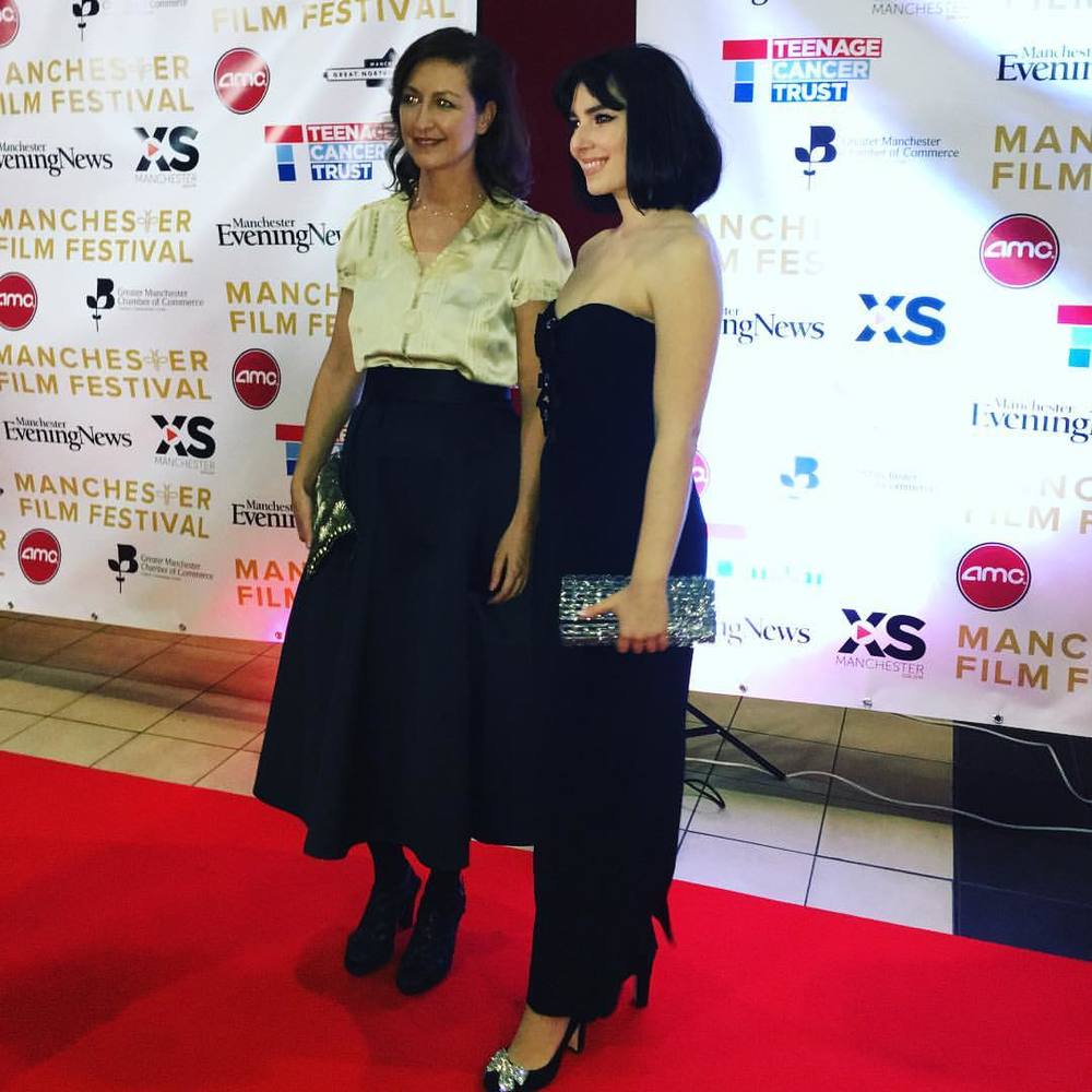 At the red carpet at MANIFF 2016