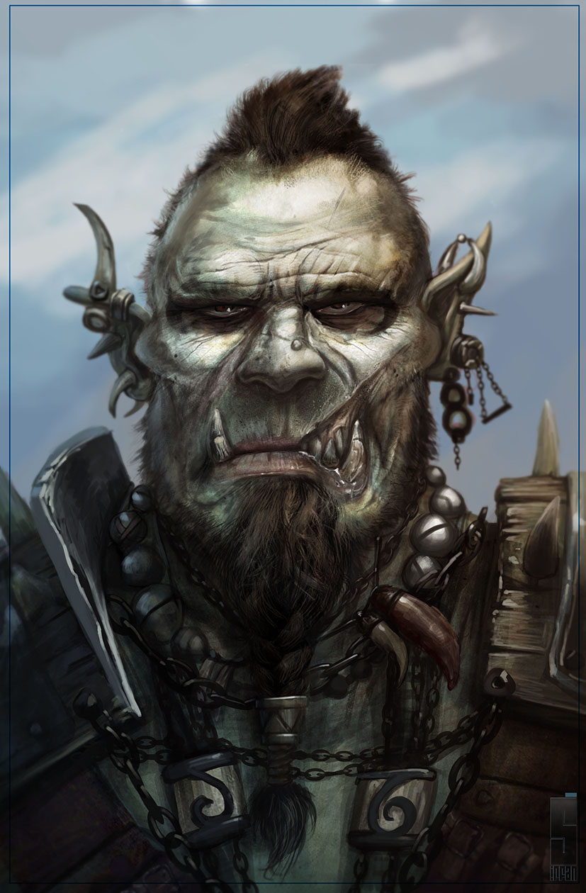 Orc by Saad Irfan.