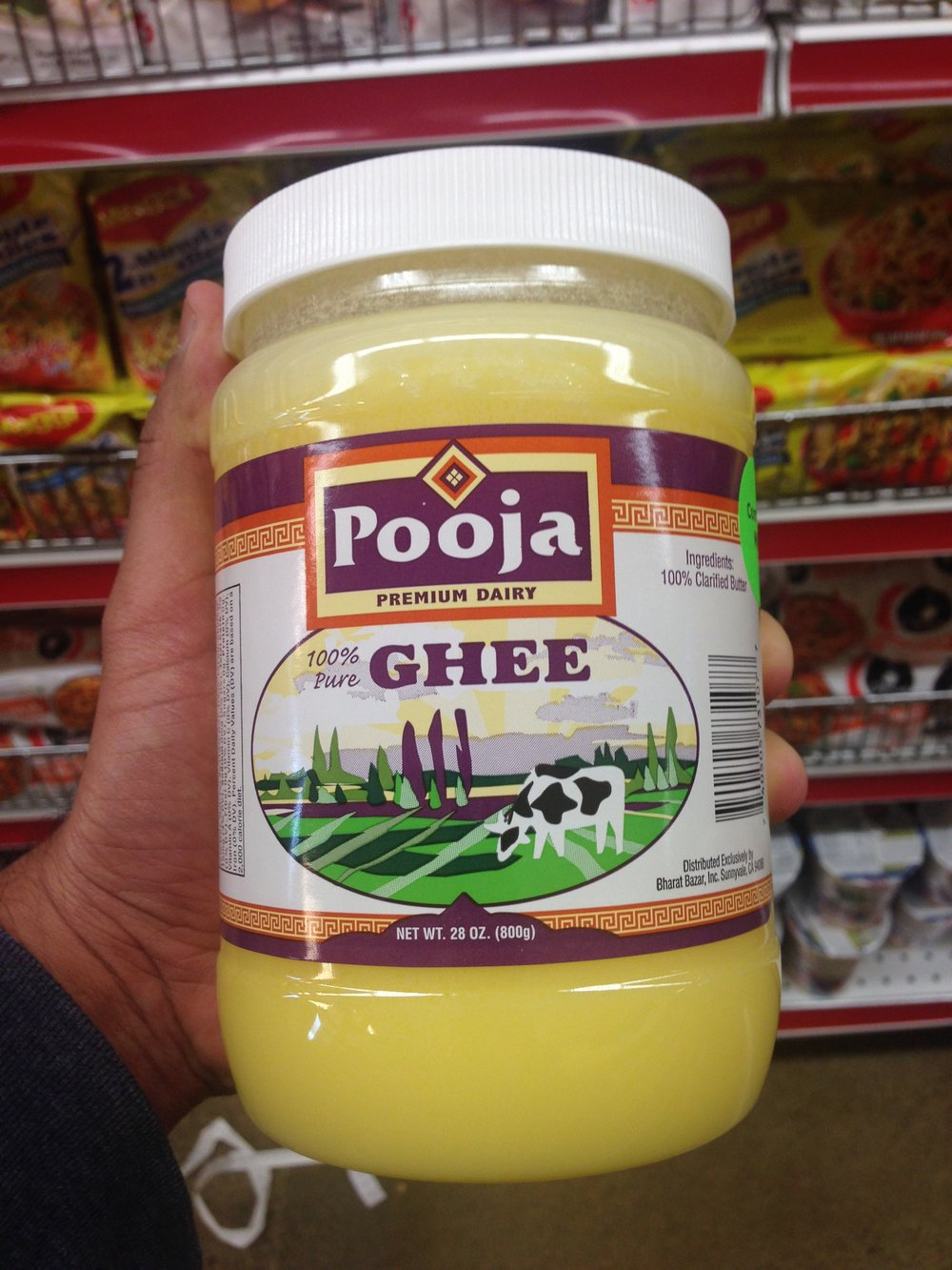 Pooja brand ghee is now available at all Bharat Bazar Stores. Click here for Location info.