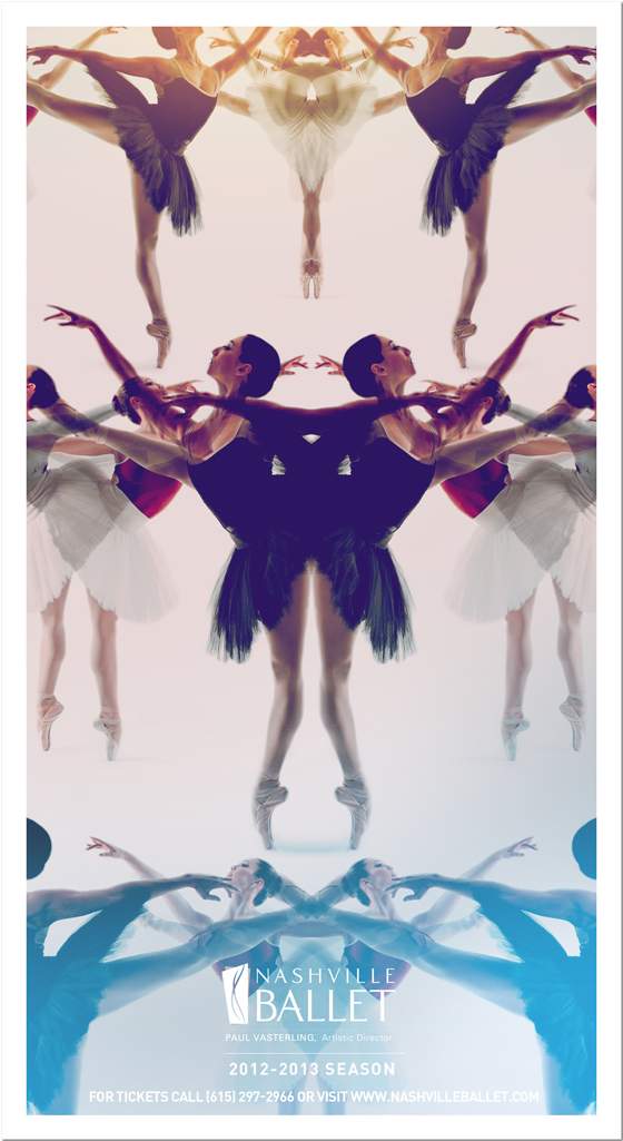 Nashville Ballet 2012-2013 Season Brochure Cover