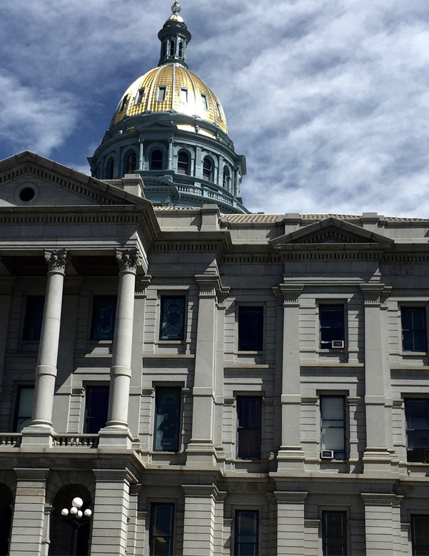 Built Environment Evolution client building: Colorado State Capitol Building