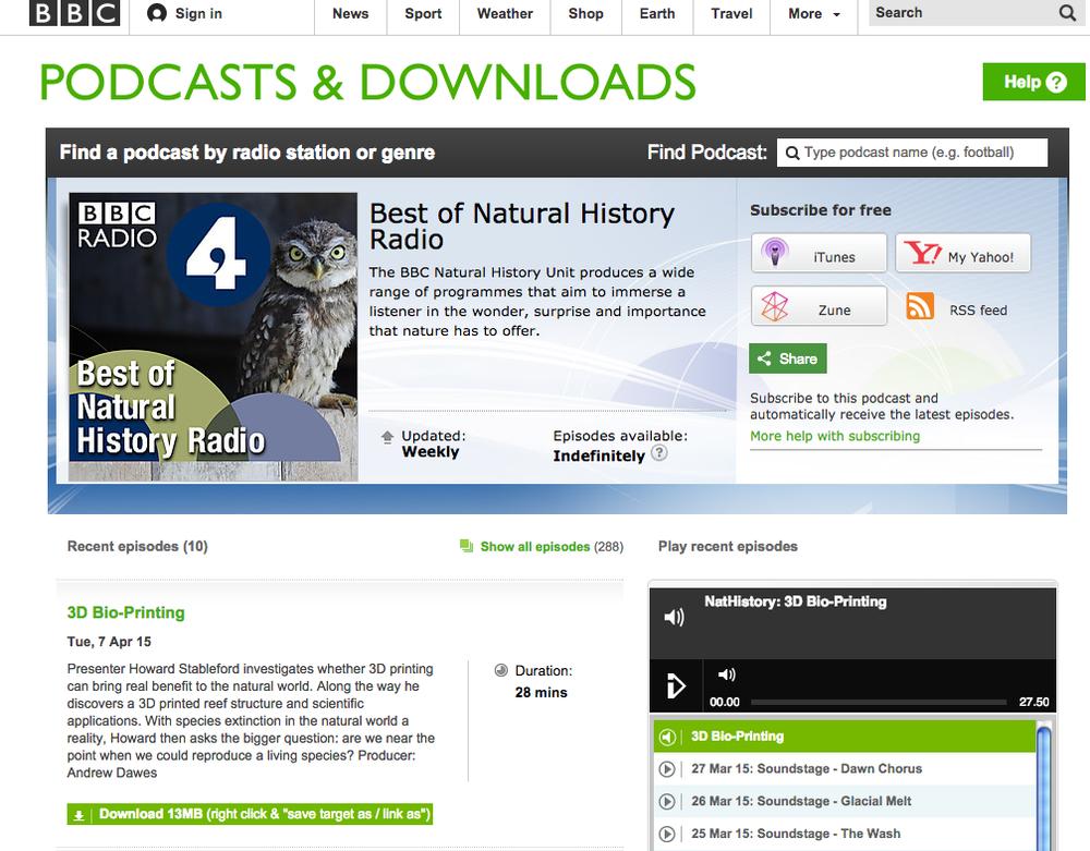 BBC Radio 4: Interview with RDL's David Lennon