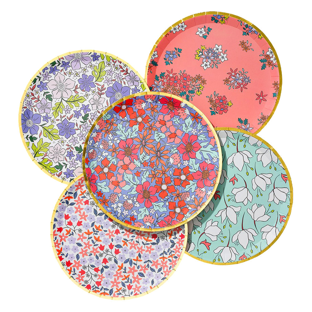 Coterie Party bloom plates.jpg