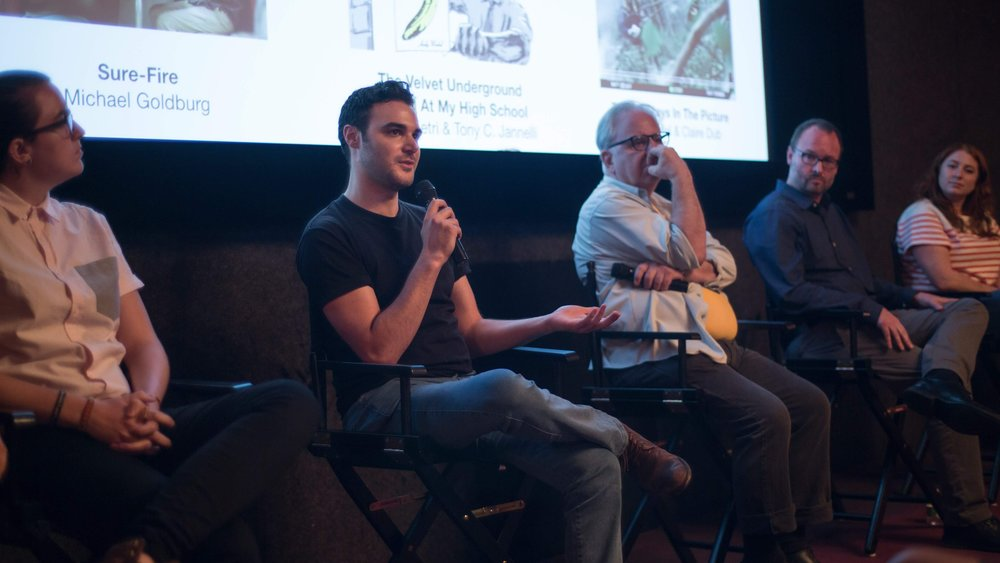 "Zayn Alexander at the screening of his directorial debut ""Abroad"" at the Independent Filmmaker Project (IFP) in New York."