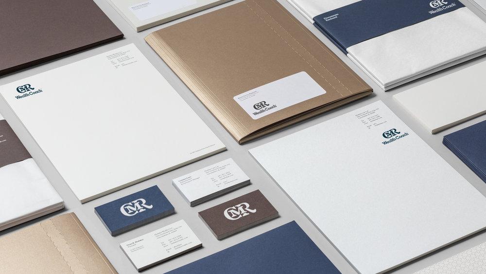 CMR Financial - Logotype Design