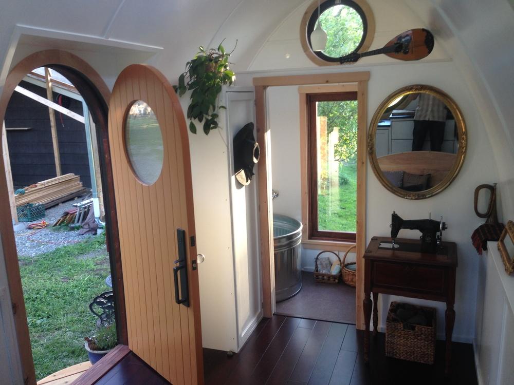 Interior Of The Dewdrop Looking Toward Bathroom