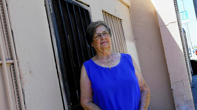 Pastor Paula Daniels at the Well, a drop-in center where she counsels underage prostitutes in Lynwood. Daniels divides her time between L.A., Orange and San Bernardino counties. (Anne Cusack, Los Angeles Times)