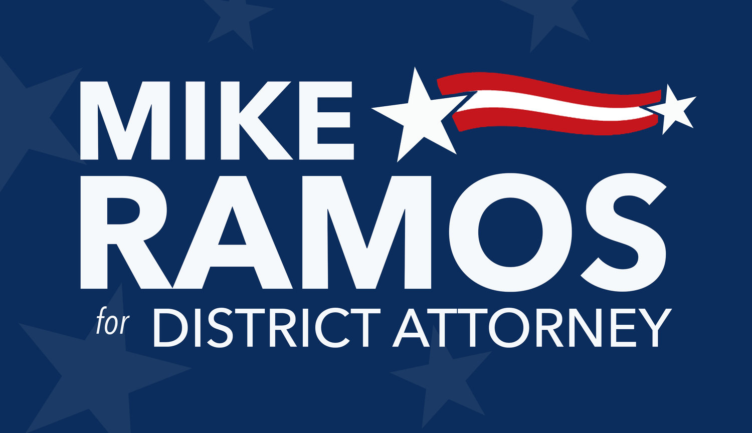 Join Mike Ramos for Distict Attorney 2018