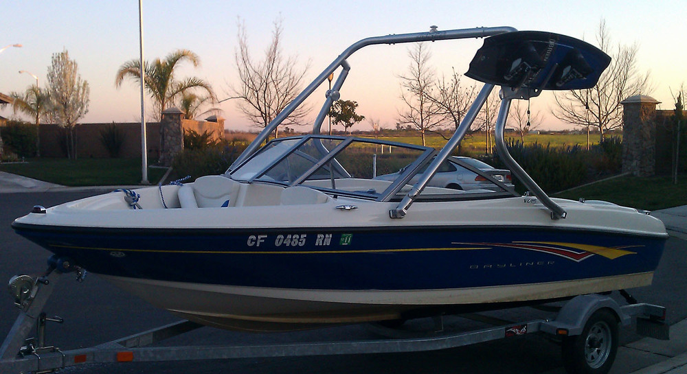 wakeboard tower 2007 bayliner 175