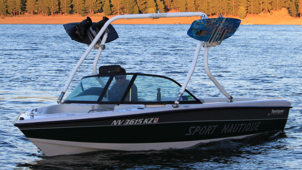 Wakeboard Tower on a 1999 sport nautique