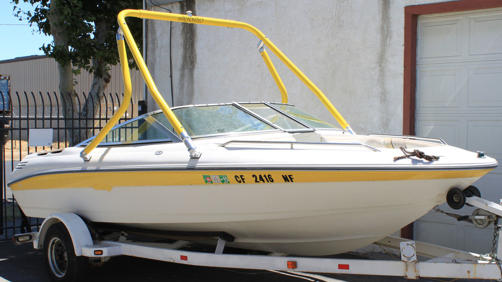 Wakeboard Tower on 1991 Sea Ray 170