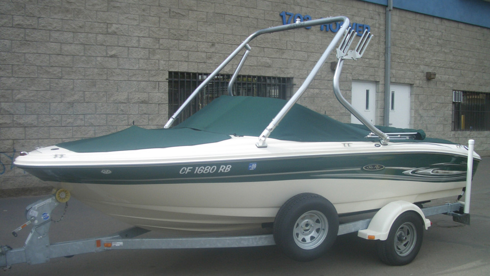 Wakeboard Tower on a 2005 Sea Ray 185
