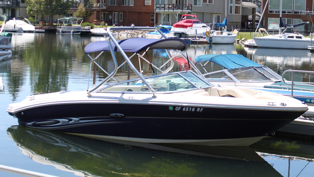 Wakeboard Tower 2005 Sea Ray 220 select