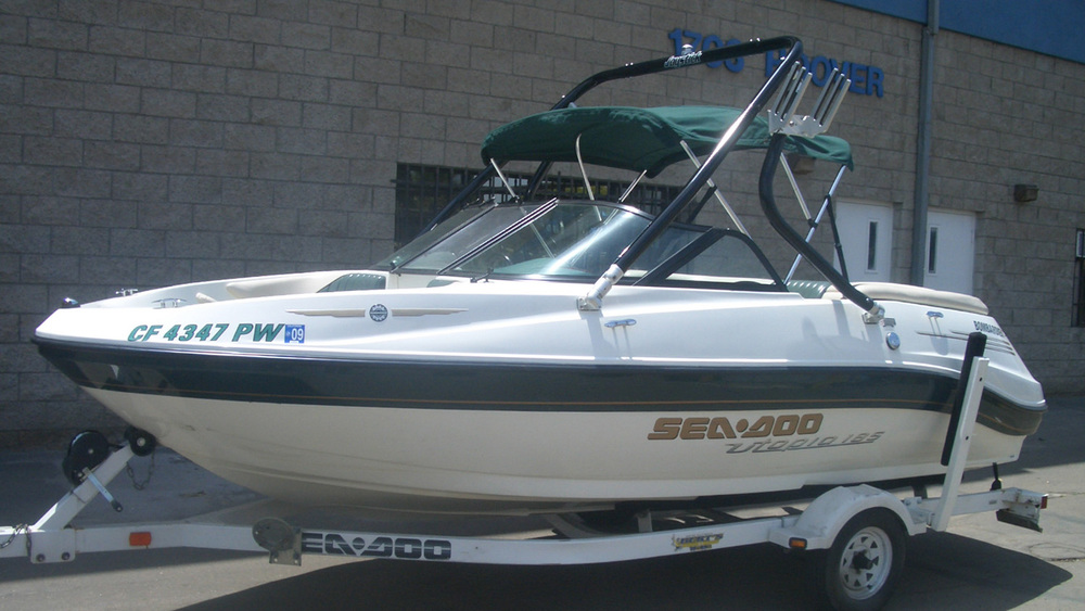 wakeboard tower on a 2003 Sea-Doo utopia 205