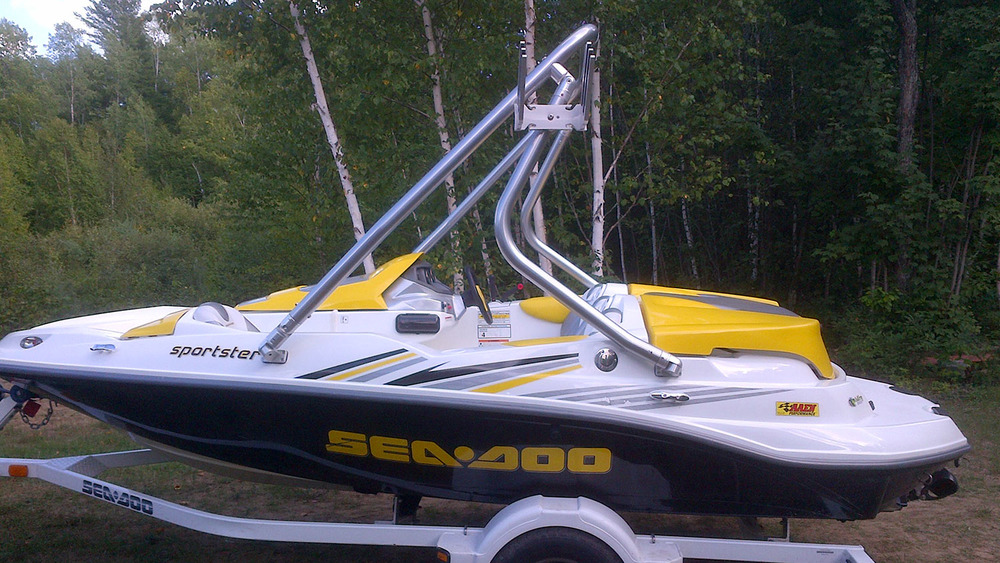 Tower on a 2005 sea-doo sportster