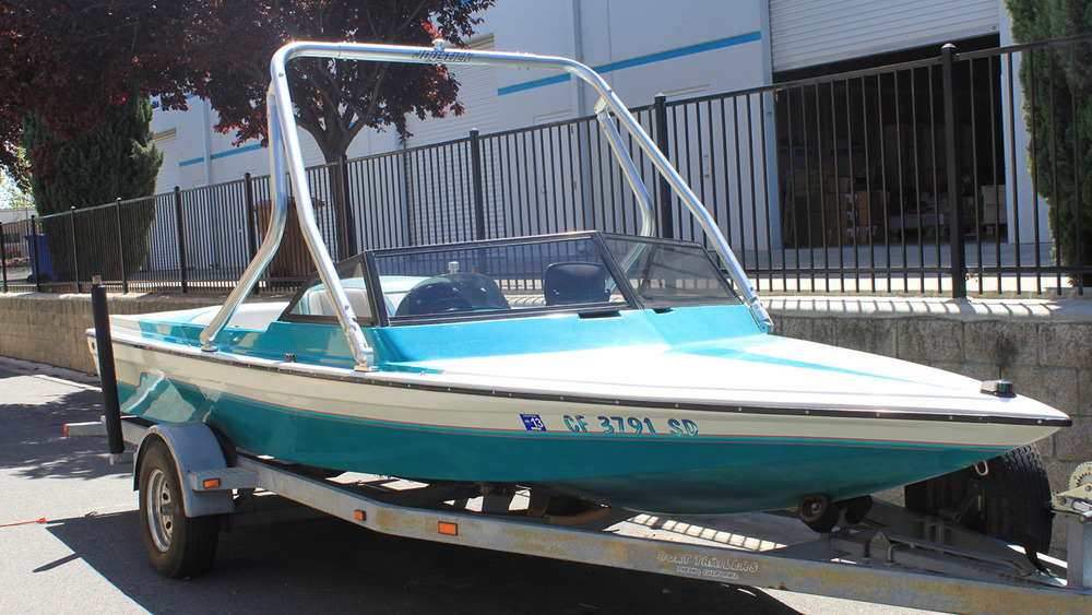 Wakeboard Tower on a 1993 Malibu eruo